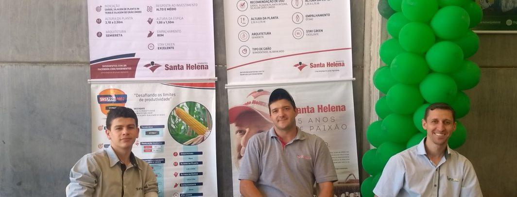 Santa Helena Sementes participa do Dia de Negócios em parceria com Turamix em Braço do Norte/SC