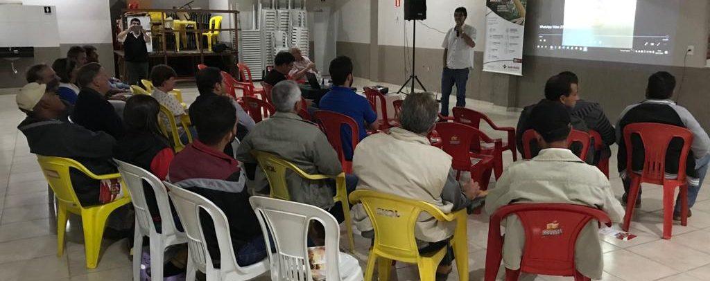 Santa Helena Sementes realiza Palestra em Nazareno/MG